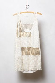 Anthropologie Carmela Patchwork Tank