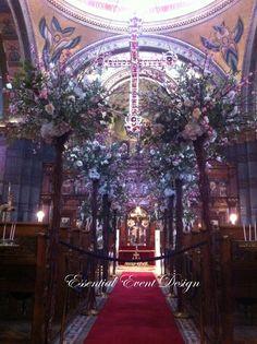 Blossom Flower Tree Wedding Aisle for ceremony