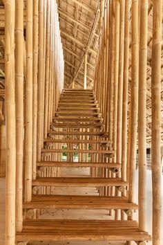 竹でつくられたタイ・チェンマイの体育館|TOKYO DESIGN WEEK 東京デザインウィーク