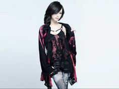 #ThrowbackThursday exist†trace miko models for SIXh.  #jrock #girlsrock #japan #japanesefashion
