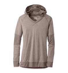 """Camping Hiking : Clothing for Women :""""Outdoor Research Women's Umbra Hoody : Mushroom : Large"""" ** For more information, visit now"""
