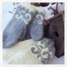 Tova votter Gudrun, Mittens, Gloves, Knitting, Socks, Blog, Fingerless Mitts, Tricot, Breien