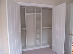 Closets – Any closet in your home can turn into a high-end storage area with custom built-in shelves. They allow you to make the most of any space!