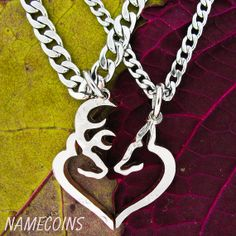Buck and Doe making a heart set Country Girl Style, Country Girls, Country Life, Father Daughter Necklace, Buck Tattoo, Camo Rings, Browning Logo, Browning Symbol, Cowgirl Bling