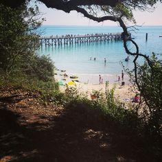 Wanna live by the sea L'estacade, plage des dames à Noirmoutier.
