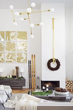 How To Get Away With Keeping Festive Decor Up Past The Holidays  - ELLEDecor.com