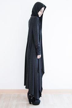 Skim – Floor length hooded jacket | Sanctus