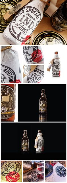 IndHED Craft Beer Limited Edition :: Package Design by IndustriaHED (via Creattica)