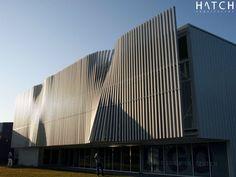 🏬 Pieles arquitectónicas. Building Skin, Building Facade, Building Design, Kinetic Architecture, Facade Architecture, Contemporary Architecture, Contemporary Design, Module Design, Mall Facade