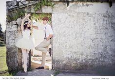 Ballet Love engagement shoot