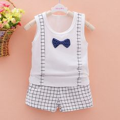 Cheap costume lingerie, Buy Quality costume generator directly from China costum bags Suppliers: New Year costumes for children boys baby clothes Korean cotton vest +shorts bow tie strap vest sport suits kids clothes