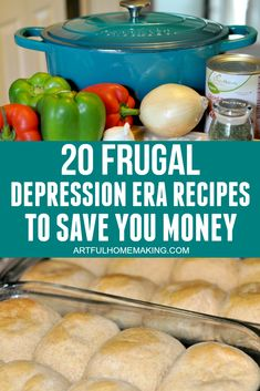 These 20 frugal Depression Era recipes are actual authentic recipes used during that time period! This list includes simple recipes that will save you money on your grocery bill! Easy Dinners For Two, Cheap Easy Meals, Inexpensive Meals, Easy Healthy Dinners, Meals For Two, Easy Healthy Recipes, Easy Dinner Recipes, Simple Recipes, Dinner Healthy