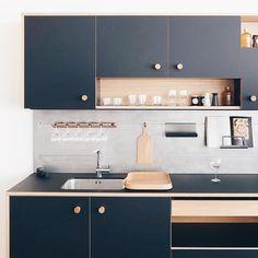 """636 curtidas, 8 comentários - Man of Many - manofmany.com (@manofmanytastes) no Instagram: """"Kitchen inspo. via @tumblr"""""""