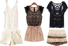 Favorite Lace Clothing #fashion #style
