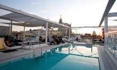 MADRID Rooftop bar at Room Mate Oscar