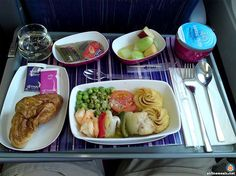 I love Thai Airways, the food is better than Emirates.