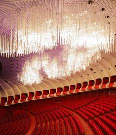 Those lights, wowza! Teatro Regio Theater in Turin Italy.