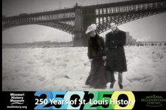 Our Director of Exhibitions and Research having fun with Step Inside Historic St. Louis! This program lets you step back in time and (through the magic of green screen) have your photo taken inside one of our historic images. See mohistory.org/calendar/step-inside for details.