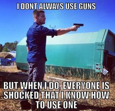 Lol everytime I go to the shooting range I get babied until they realize I'm not as much as a noob as they had expected.