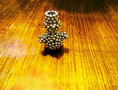 Do you miss a snowman in this snowless winter? Make a neodymium one!
