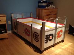 Coolest children's bed I have ever seen in my life! Totally going to build this some day