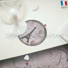 Un sous verre ambiance Parisienne, une cérémonie romantique qui rapelle une balade en amoureux dans les rues de la capitale