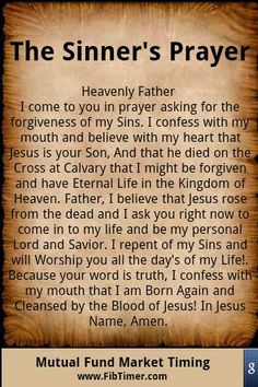This is my prayer request for all the visitor's to this board. If you don't know Jesus personally, please read this Salvation Prayer. It is your invitation to receive Jesus Christ in trusting, repentant faith as exclusive Savior and Lord of your life. Salvation Prayer, Faith Prayer, My Prayer, Faith In God, Prayer Board, Jesus Prayer, Forgiveness Prayer, Eternal Salvation, Serenity Prayer