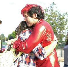 He looks like such a great hugger. His hugs look fantastic. Honestly I need a hug right now like not just from him like pls I just want a hug.