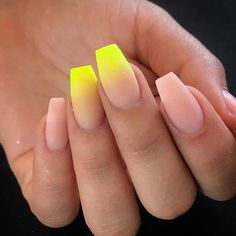 43 Neon Nail Designs That Are Perfect for Summer Page 3 of 4 StayGlam Neon Nail Designs, Cute Summer Nail Designs, Short Nail Designs, Nail Polish Designs, Nail Polish Colors, Summer Nails Neon, Neon Yellow Nails, Neon Nails, Wedding Nail Polish