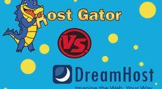 A Hostgator Coupon Bayou Review of Hostgator vs Dreamhost #hostgator #dreamhost #review