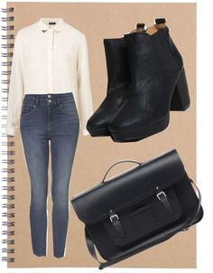 """""""back to Uni style..."""" by tylerlizzie on Polyvore"""