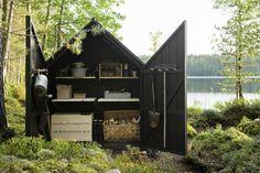 caseta de jardín