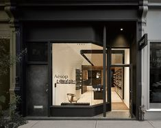 Aesop Queen Street West is the brand's first Canadian store. A luxury skin and body-care line from Australia, Aesop chose to work with the architectural..