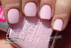 Maybelline Bubble Pink Nail Polish