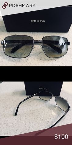 Prada Sunglasses Brand new with out tags. Has box and case. Never worn Prada Accessories Sunglasses