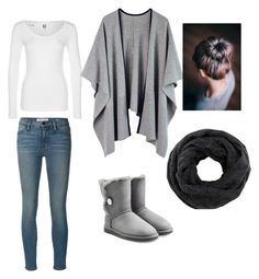 """Stay Fall"" by anaburbuja-c-a on Polyvore featuring G-Star, Frame Denim and UGG Australia"
