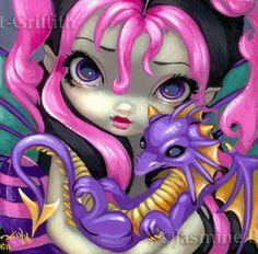 Jasmine Becket Griffith Fairy-Face-142
