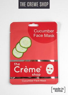CucumberåÊstrengthens your facial tissues andåÊcalms redness. ItåÊalso helps with swelling under the eyes. Goodbye puffiness!åÊ ** Contains 1 cloth sheet mask.