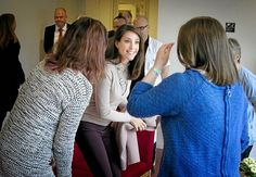 Queens & Princesses - Princess Marie visited a hospital caring for patients with epilepsy in Dianalund. The princess is the godmother of the Danish Association for epilepsy.