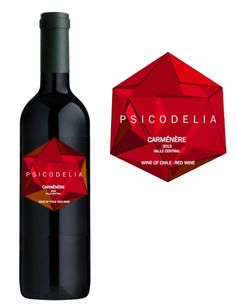 Wine Label Psicodelia Varietal Marca Privada  Chile