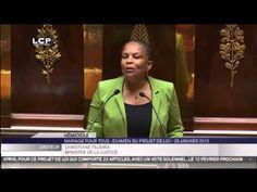 La Politique Christiane Taubira, défend avec ferveur, courage et émotion le projet de loi Mariage pour tous. - http://pouvoirpolitique.com/christiane-taubira-defend-avec-ferveur-courage-et-emotion-le-projet-de-loi-mariage-pour-tous/