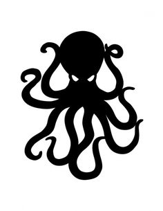 Octopus stickers featuring millions of original designs created by independent artists. Octopus Outline, Octopus Art, Angry Octopus, Octopus Legs, Kraken, Octopus Design, Octopus Tattoos, Blink 182, Sgraffito
