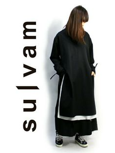 sulvam[サルバム]LONG PULL OVER JKTをメインに使用したレディーススタイリング How To Wear, Fashion, Moda, La Mode, Fasion, Fashion Models, Trendy Fashion