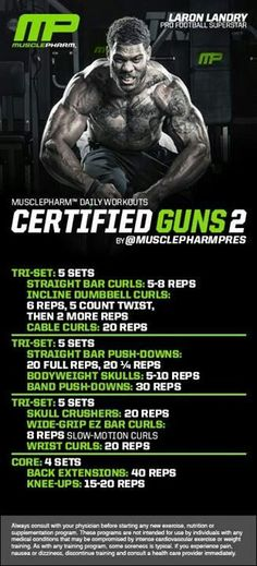 Workout | MusclePharm (Daily