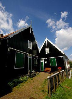 Black houses in germany