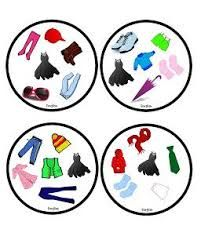 Funglish: Clothes - part 1 Games For Kids, Activities For Kids, Double Game, English Games, Ice Breakers, English Lessons, Nursery, Teaching, Education