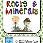 This document contains 10 activities you can use to enhance your unit on Rocks and Minerals.  5.00