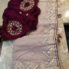 Gota Patti Saree, Saree Floral, Whatsapp Group, Indian Dresses, Blouse Designs, Sarees, Embroidery, Bridal, Link