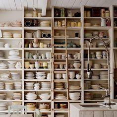 storage in a kitchen