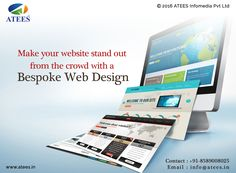 Make your website stand out from the crowd with a bespoke web design